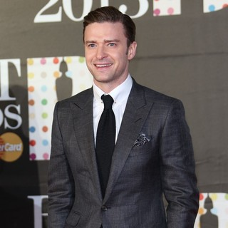 Justin Timberlake in The 2013 Brit Awards - Arrivals