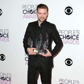 Justin Timberlake in The 40th Annual People's Choice Awards - Press Room