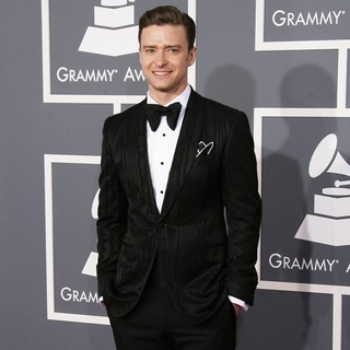 Justin Timberlake in 55th Annual GRAMMY Awards - Arrivals