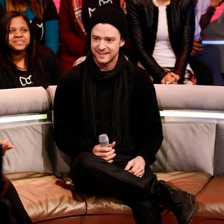 Justin Timberlake in Justin Timberlake Appears on BET's 106 and Park