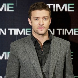 Justin Timberlake in The In Time Photocall