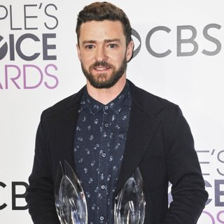 Justin Timberlake-People's Choice Awards 2017 - Press Room