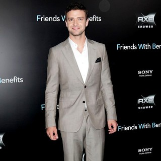 Justin Timberlake in New York Premiere of Friends with Benefits - Arrivals