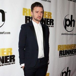 Justin Timberlake in Twentieth Century Fox and New Regency Celebrate The World Premiere of Runner, Runner