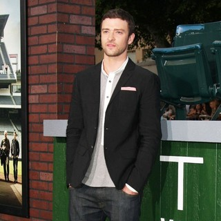 Justin Timberlake in The World Premiere of Trouble with the Curve