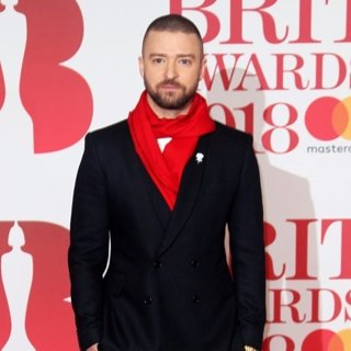 Justin Timberlake in The BRIT Awards 2018 - Arrivals