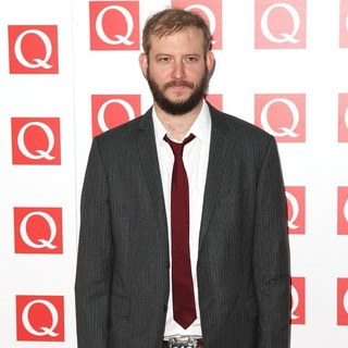Bon Iver in The Q Awards 2011 - Arrivals - justin-vernon-q-awards-2011-02