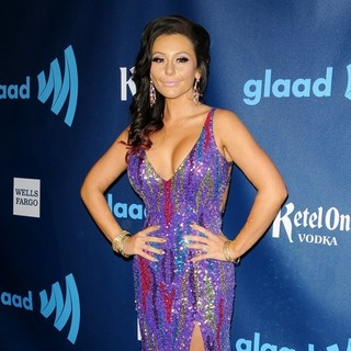 JWoww in 24th Annual GLAAD Media Awards - Arrivals