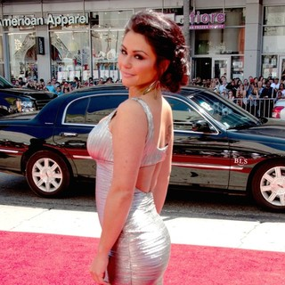 JWoww - The World Premeire of The Three Stooges - Arrivals
