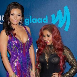 Snooki in 24th Annual GLAAD Media Awards - Arrivals - jwoww-snooki-24th-annual-glaad-media-awards-02