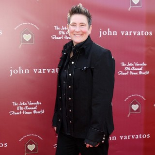 k.d. lang in 8th Annual John Varvatos Stuart House Benefit