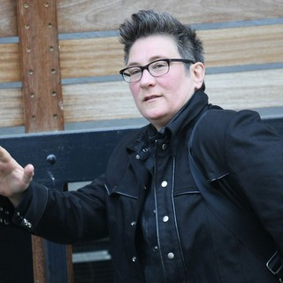 k.d. lang in k.d. lang at The ITV Studios