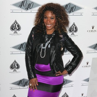 K. Foxx in Grand Re-Opening of The 40-40 Club - Arrivals