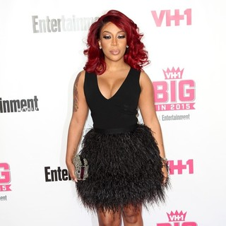 K. Michelle - VH1 Big in 2015 with Entertainment Weekly Awards - Arrivals