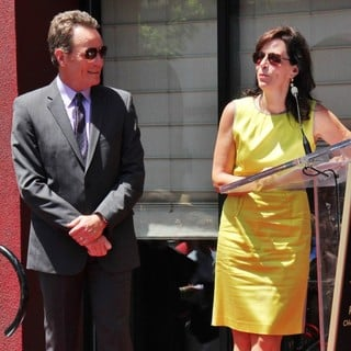 Bryan Cranston, Jane Kaczmarek in Bryan Cranston Honored with Star on The Hollywood Walk of Fame