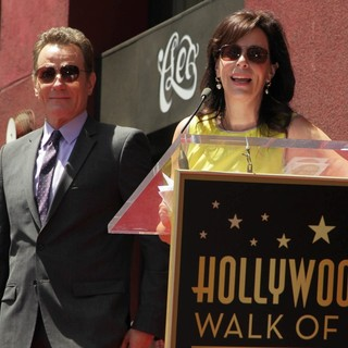 Jane Kaczmarek in Bryan Cranston Honored with Star on The Hollywood Walk of Fame - kaczmarek-cranston-bryan-cranston-walk-of-fame-06