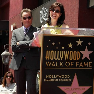 Jane Kaczmarek in Bryan Cranston Honored with Star on The Hollywood Walk of Fame - kaczmarek-cranston-bryan-cranston-walk-of-fame-07