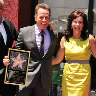 Jane Kaczmarek in Bryan Cranston Honored with Star on The Hollywood Walk of Fame - kaczmarek-cranston-bryan-cranston-walk-of-fame-08