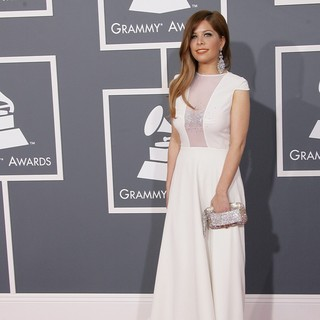 Kady Z in 55th Annual GRAMMY Awards - Arrivals