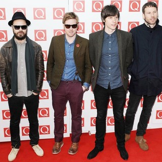 Kaiser Chiefs in The Q Awards 2011 - Arrivals