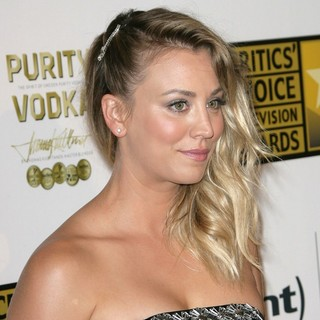 Kaley Cuoco in Broadcast Television Journalists Association's 3rd Annual Critics' Choice Television Awards
