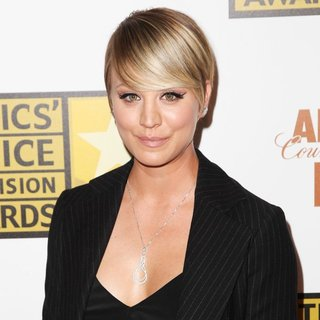 Kaley Cuoco in 4th Annual Critics' Choice Television Awards