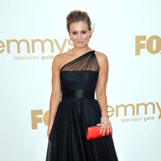 Kaley Cuoco in The 63rd Primetime Emmy Awards - Arrivals