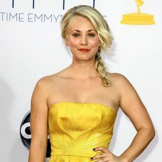 Kaley Cuoco in 64th Annual Primetime Emmy Awards - Arrivals