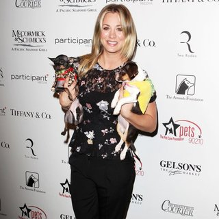 Kaley Cuoco in The Amanda Foundation's Annual Bow Wow Beverly Hills Halloween Event