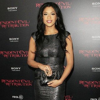 Kali Hawk in Resident Evil: Retribution Los Angeles Premiere - Arrivals