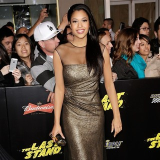 Kali Hawk in The World Premiere of The Last Stand