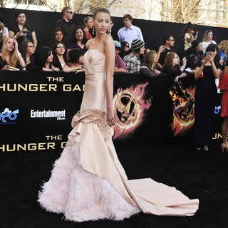 Kalia Prescott in Los Angeles Premiere of The Hunger Games - Arrivals