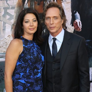 Kymberly Kalil, William Fichtner in The World Premiere of Disney-Jerry Bruckheimer Films' The Lone Ranger