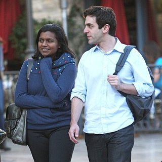 Mindy Kaling, B.J. Novak in B.J. Novak and Mindy Kaling Shopping