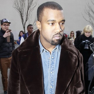 Kanye West in Paris Fashion Week - Autumn-Winter 2013 - Celine - Arrivals - kanye-west-paris-fashion-week-autumn-winter-2013-01