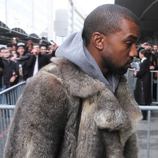 Kanye West in Paris Fashion Week Men's Spring-Summer 2014 - Celebrity Sightings