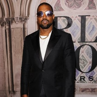 Kanye West in Ralph Lauren 50th Anniversary Event - Red Carpet