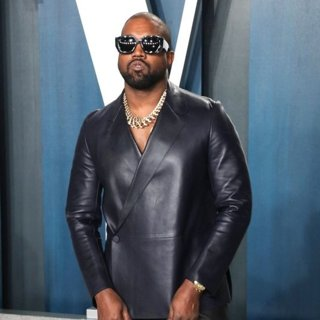 Kanye West in The Vanity Fair Oscar Party 2020