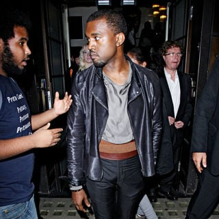 Kanye West in A Special Screening of The Film 'Runaway'