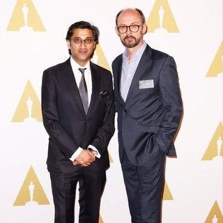 Asif Kapadia, James Gay-Rees in 88th Annual Academy Awards Nominee Luncheon - Arrivals