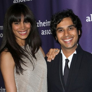 Neha Kapur, Kunal Nayyar in The 20th Annual A Night at Sardi's Fundraiser and Awards Dinner - Arrivals