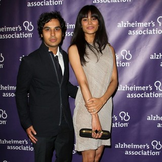 Kunal Nayyar, Neha Kapur in The 20th Annual A Night at Sardi's Fundraiser and Awards Dinner - Arrivals