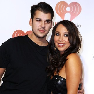 Rob Kardashian, Cheryl Burke in iHeartRadio Music Festival - Day 2