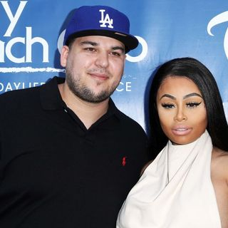 Rob Kardashian and Blac Chyna Celebrate Memorial Day Weekend