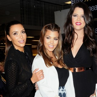 Kim Kardashian, Kourtney Kardashian, Khloe Kardashian in The One Year Anniversary of The Kardashian Kollection