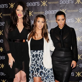 Khloe Kardashian, Kourtney Kardashian, Kim Kardashian in The One Year Anniversary of The Kardashian Kollection