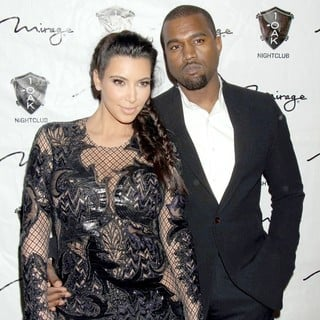 Kanye West in 1 Oak Nightclub New Year's Eve Party - kardashian-west-1-oak-nightclub-01