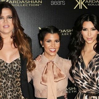 Khloe Kardashian, Kourtney Kardashian, Kim Kardashian in Kardashian Kollection Launch Party