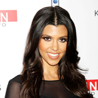 "Kourtney Kardashian in The ""Keeping Up with the Kardashians"" Season 5 Premiere Party"