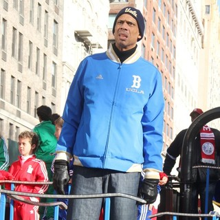 Kareem Abdul Jabbar in 86th Annual Macy's Thanksgiving Day Parade